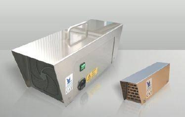 Mietgerät CAT-SD zur Ozonierung von Fässern/Kellerräumen