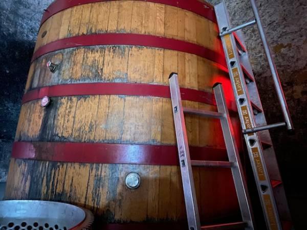 """Vorbelegter """"Stockinger"""" Gärbottich, ca. 2900 Liter, Baujahr 1998"""