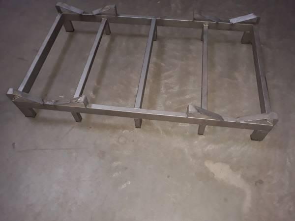 Gebrauchte 500er Tonneaux Doppelgestelle - Edelstahl rostfrei