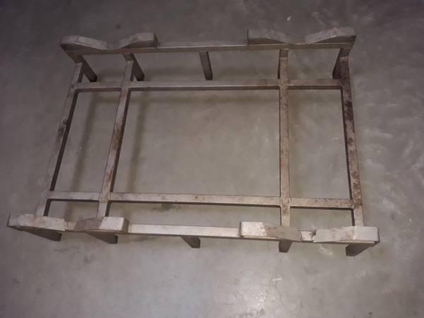 Gebrauchte 225er Barrique Doppelgestelle - Edelstahl rostfrei
